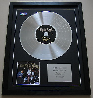 RIZZLE KICKS Roaring 20s CD / PLATINUM LP DISC Presentation