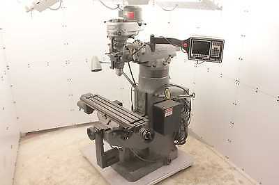 "Bridgeport Series II ProtoTrak MX2 Control Vertical CNC Milling Machine 42"" x 9"""