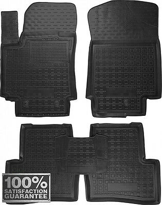 Rubber Carmats for Hyundai Creta 2016- All Weather Fully Tailored Floor Mats