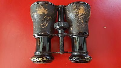 Vintage Horse Racing Binoculars Le Jockey Club,Paris,Theatre, Opera