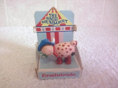 Magic Roundabout Ermintrude Hand Painted Figure 1993