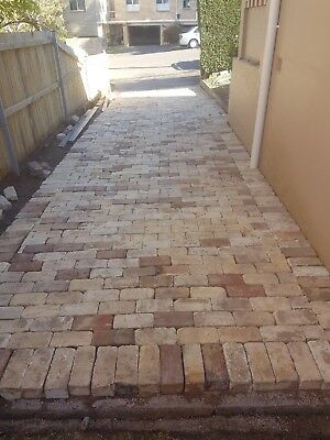 Cream Bricks Recycled Price Per 1000. Delivery Available. Paving / Feature Wall