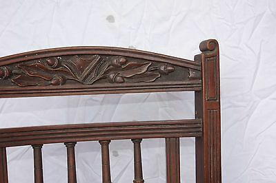 6 antique chairs - retro timber furniture - hand carved vintage
