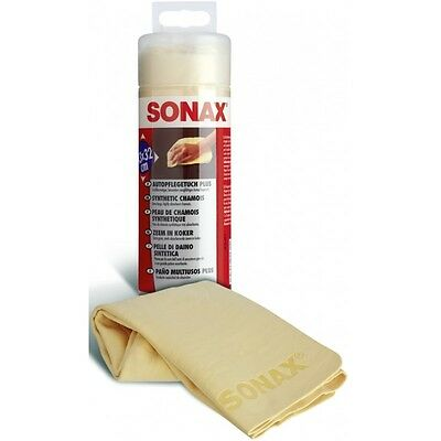 SONAX SYNTHETIC CHAMOIS - Extra large High quality - Excellent absorption