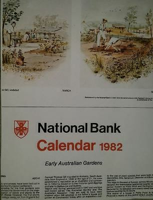 Collectors National Bank Arts Calendars - 1966 till 1999 inclusive
