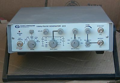 Global Specialties 4010 Pulse Generator 0.1MHz to 10 MHz Frequency