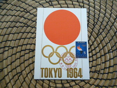 Japan  1964  olympics Tokyo Olympic Rings