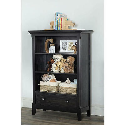 Baby Cache Overland Bookcase - Forever Black