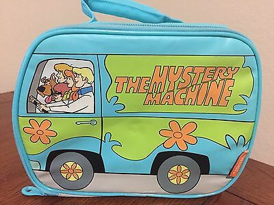 SCOOBY DOO Mystery Machine Van Insulated THERMOS Lunch Box Collectible School