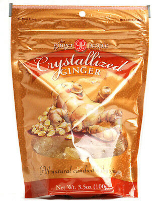 Crystallized Ginger, The Ginger People, 3.5 oz
