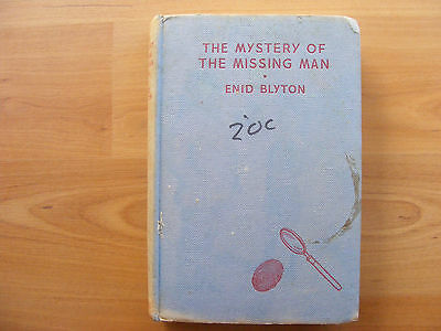 The Mystery of the Missing Man by Enid Blyton (hardcover 1956)