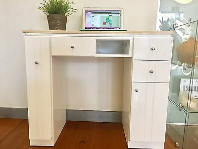 Nail Table Manicure White Desk