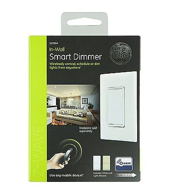 NEW GE Z-Wave Wireless Smart Lighting Control Smart Dimmer Switch (12724)