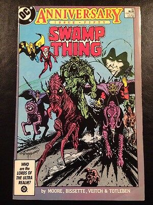 Swamp Thing #50 FN 6.0 Grade Alan Moore 1st Appearance Justice League Dark