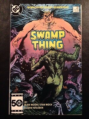 Swamp Thing #38 FN/VF 7.0 Grade Alan Moore 2nd Appearance Of Constantine