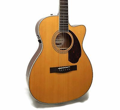 Fender PM-3 Standard Paramount Series Triple-0 Acoustic-Electric Guitar w/ Case