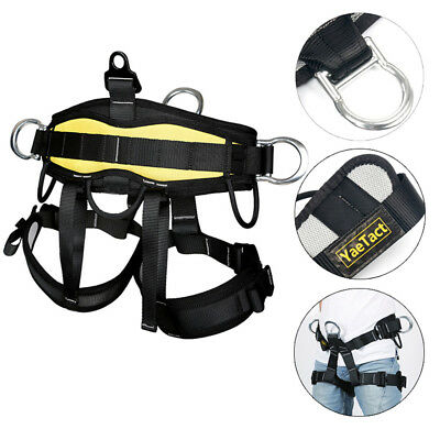 Rock Climbing Tree Surgeon Rappelling Equip Harness Seat Bust Belt AU Fast Ship