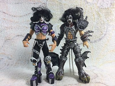 1998 Kiss Action Figures Gene Simmons McFarland Toys 90s FOR PARTS