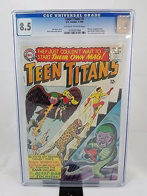 Teen Titans # 1 CGC 8.5 OW/W (DC, 1966) 1st Teen Titans in Own Series Older Case