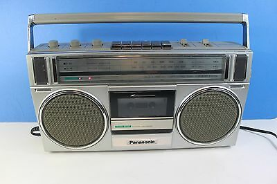 PANASONIC RX-4955,AM/FM stereo radio with cassette player/recorder-boombox (ref