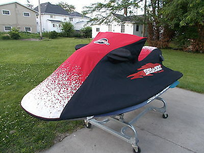 SEA DOO GSX GS GSI Cover Black And Red OEM