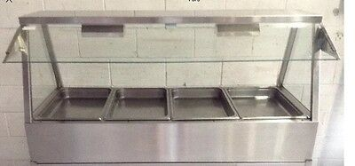 WOODSON COMMERCIAL Self Serve 4 Bay BAIN MARIE Cafe Restaurant Equipment
