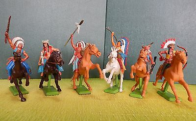 Britains deetail 6 Indiani a cavallo