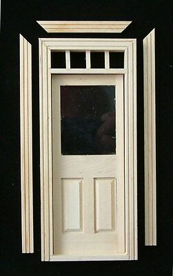 Dolls House 12th Scale Half Glazed Door