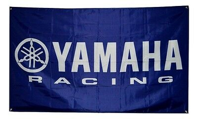 Yamaha Racing Flag 3x5 Banner Poster R1 R6 Motorcycle YZF Dirt Bike