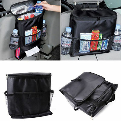 Car Auto Seat Back Protector Cover For Children Kick Mat Mud Clean Black RF