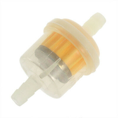 2Pcs Universal Autocycle Mini Small Engine Fram Plastic Inline Fuel Gas Filter