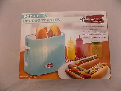American Collection Pop up Hot Dog Toaster Model ECT-304BL