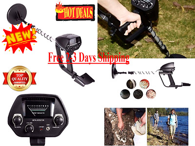 Metal Detector Treasure Hunter Waterproof Deep Sensitive Search Coil Underground