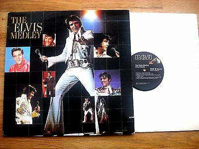 Elvis Presley - Elvis Medley -  Usa -  Rca Label - Mint Condition