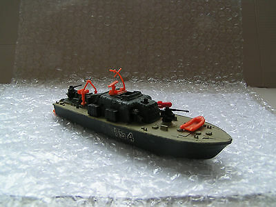 DINKY TOYS No 675 MOTOR PATROL BOAT 154. MADE IN ENGLAND.
