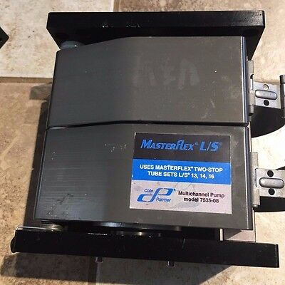 Masterflex L/S 8-channel multichannel pump head for L/S tubing 7535-08