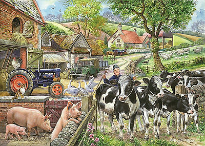 The House Of Puzzles - 500 BIG PIECE JIGSAW PUZZLE - Oak Tree Farm Big Pieces