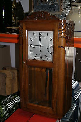 Regulator Antike Uhr  Wanduhr Art Deko Jugendstil Carillon Westminsterschlag