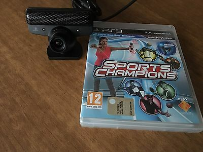 Sports Champions e Playstation Eye (Telecamera PS3)