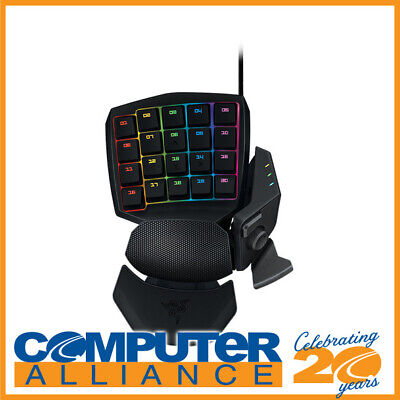 Razer Wired ORBWEAVER Chroma Mechanical Gaming Keypad PN RZ07-01440100-R3M1