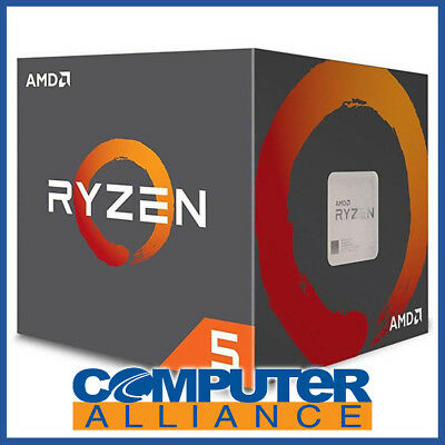 AMD AM4 Ryzen 5 1600 Hex Core 3.6GHz CPU