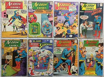 Action Comics X 27 SILVER AGE issues (1965 - 1970) JOBLOT full list in descript