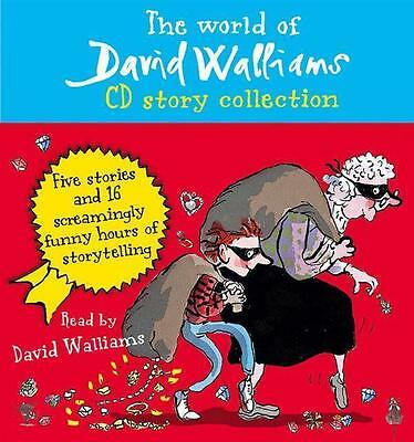 THE WORLD OF DAVID WALLIAMS CD Story Collection ~ 5 Stories~ New