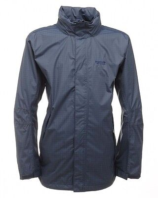 Regatta Trentham Mens Navy Waterproof Breathable Hooded Jacket