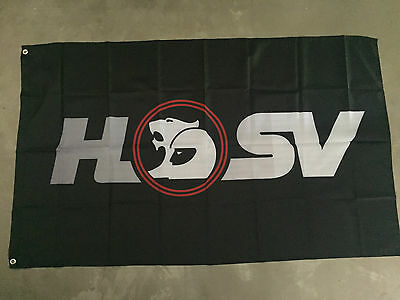Holden HSV Advertising Flag Large 150 x 90cm Man Cave Racing Barware Decoration
