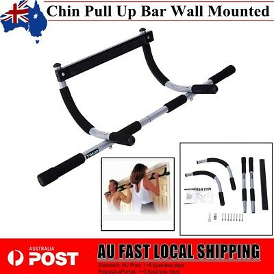 Portable Upper Body Gym Workout Exercise Door Pull Chin Up Bar ABS Home AU Ship