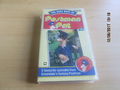 BBC The Very Best Of Postman Pat VHS Video (G14)