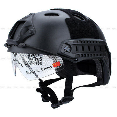 Casque Rapide Tactique Airsoft Paintball SWAT Protecteur Casque Pour Sports FRX
