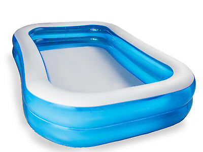 Bestway 54006 Planschbecken Family-Pool Blue Rectangular 778L 262x175x51cm
