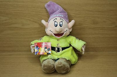"DISNEY STORE Exclusive - Dopey Snow White & The Seven Dwarfs 10"" Plush Soft Toy"